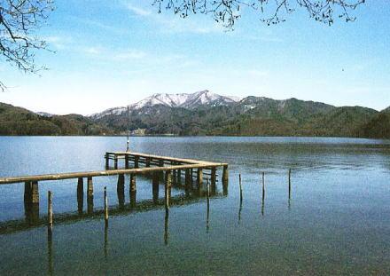 湖 野尻 野尻湖テラス観光リフト │